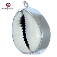 Natural Sea Shell ( Codi ) 925 Silver Pendants