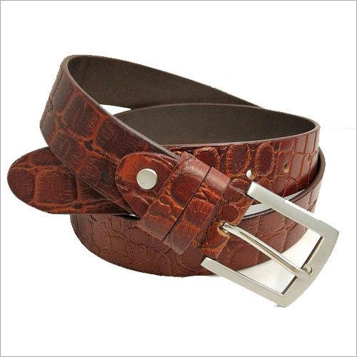 Classic Alligator Leather Belts