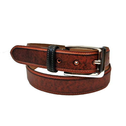 Brown Leather Dress Belts