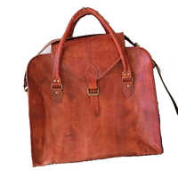 Brown Leather Mens Bags