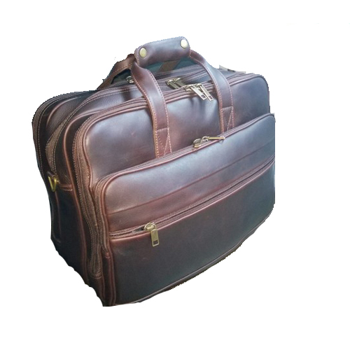 Leather Business Travel Bag