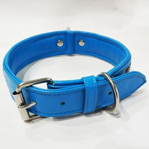 Soft Leather padded dog leather