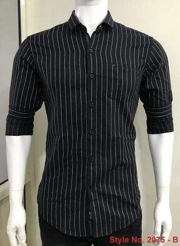 Mens Full Sleeve Cotton Shirt