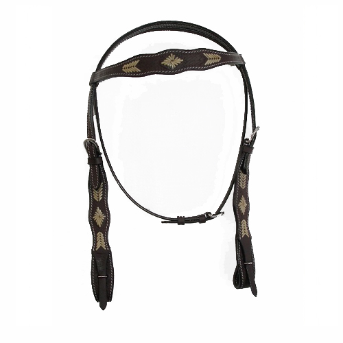 Brown Leather Headstalls