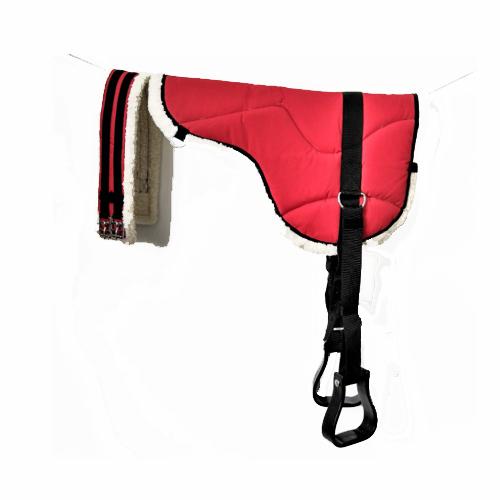 Red Bareback Pad