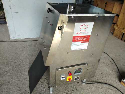 Semi Automatic Half Cooked Chapati Making Machine
