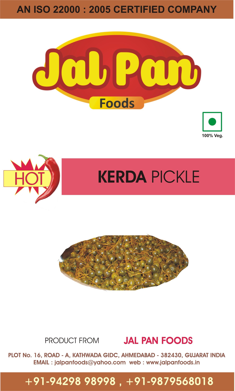 Hot Kerda Pickle