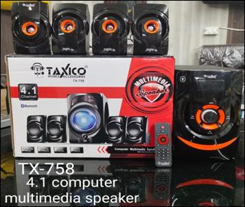 TX-758  MULTIMEDIA SPEAKER