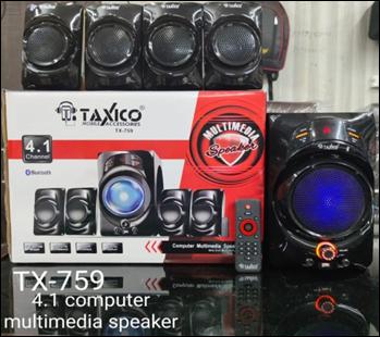 TX-759   MULTIMEDIA SPEAKER