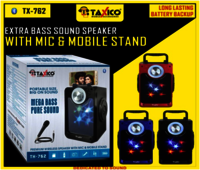 TX-762  PORTABLE SPEAKER WITH MIC