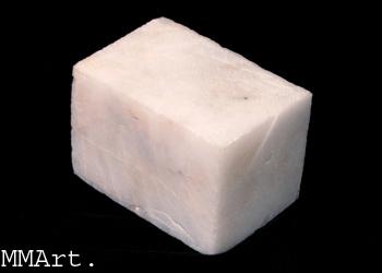 Natural Crystal Craft Hand Carved Black Jasper Rounded Slice
