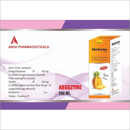 ABODZYME SYRUP 200 ML