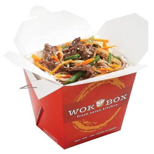 750ML Square Wok Box