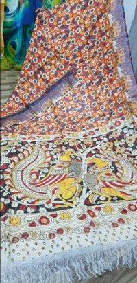 Linen Digital Printed Sarees
