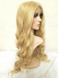Full lace wavy blond