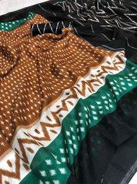 New Designer Linen Sarees
