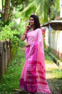 Cotton Linen Sarees