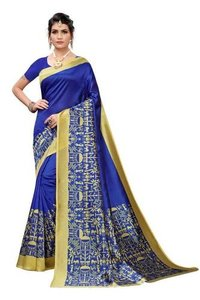 Fashionable Silk Fabric Sarees