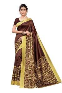 Fashionable Silk Fabric Sarees