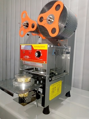 Automatic Cup Sealer Machine