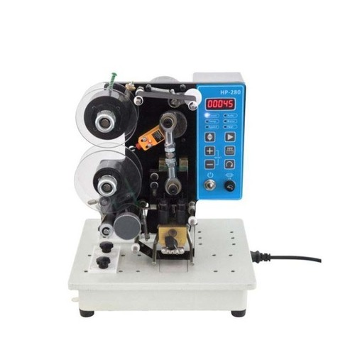 Motorized Ribbon Coding Machine