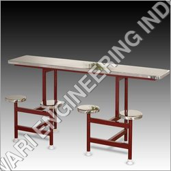 SS 4 Seater Dining Table