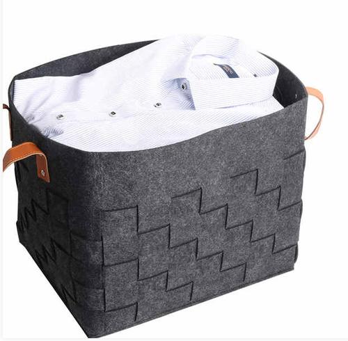 Woven Laundry Hamper Storage Basket