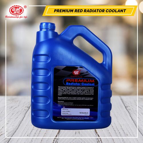 Radiator Coolant Red