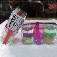 Gel Short Glasses Candle (110-)