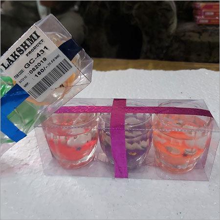 Short Gel Glasses Candle (100-)