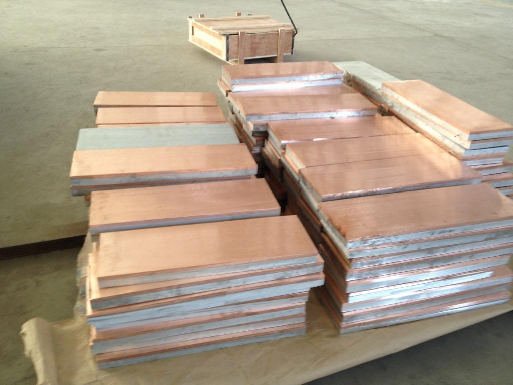 Ti/Steel Clad Plate
