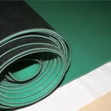 Anti static rubber sheet