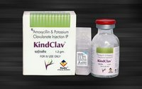 Amoxycillin 1000 Mg & Clavulanic Acid 200 Mg Injection