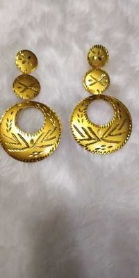 Antique Round Earrings