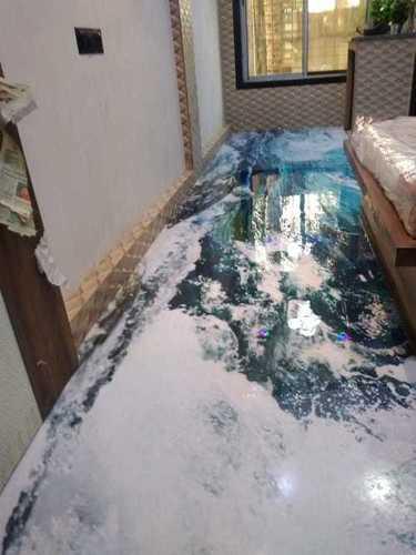 3D Clear Floor Coating