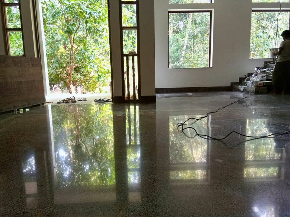 3D Clear Floor Coating