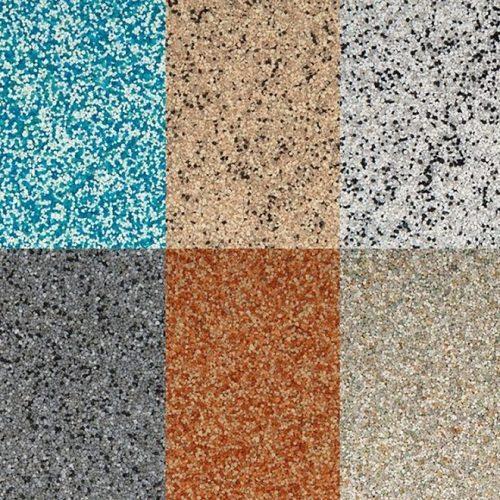 Multicolour Decorative Floor Coating
