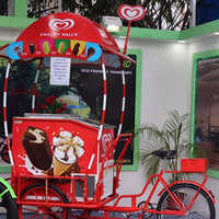 Hul Ice-Cream Cart