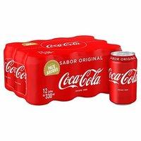 Coca Cola Soft Drink 330 ml / Coca Cola 33 cl can