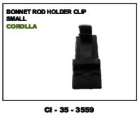 Bonnet Rod Holder Clip Small