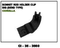 Bonnet Rod Holder Clip Big Corolla