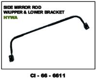 Side Mirror Rod W/Upper & Lower Bracket Hywa