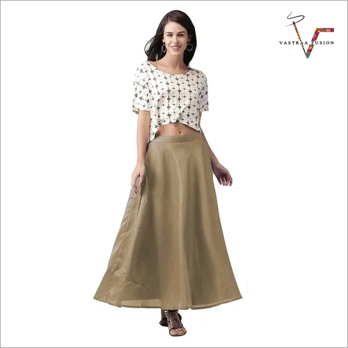 LADIES CHANDERI SKIRTS