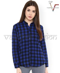 Ladies Check Cotton Shirts