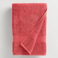 Red Cotton Towels