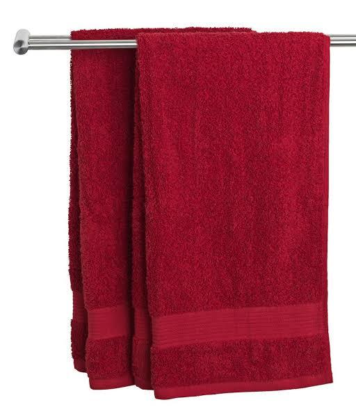 Maroon Cotton Towels
