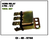 Horn Relay 4 Pin  12 V Tata 407