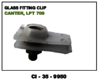 Glass Fitting Clip Canter Lpt 709
