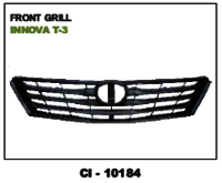 Car Front Grill Innova T-3 Grey