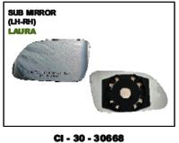 Sub Mirror Laura L/R